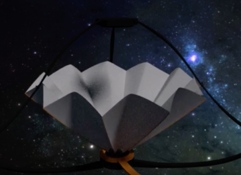 APERTURE Telescope Conceptual Design Animation