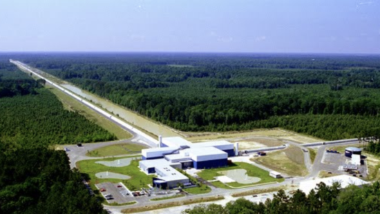 Picture of LIGO facilities