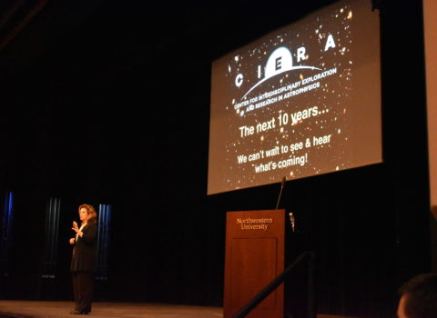 "CIERA's 10th Annual Public Lecture, ""The NU Astronomy of Stars, Black Holes, and Cosmic Explosions"""