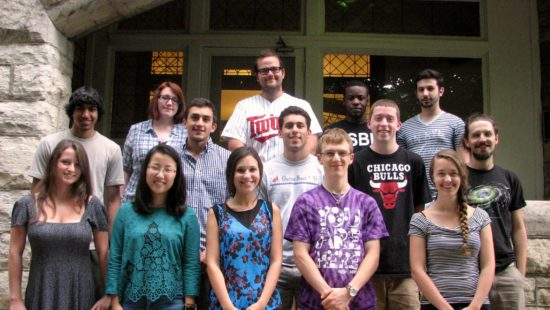 2014 Summer Students Group Photo