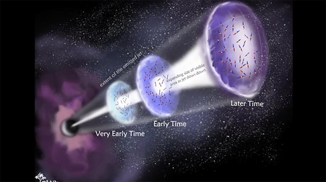 Astronomers Uncover First Polarized Radio Signals from Gamma-ray Burst