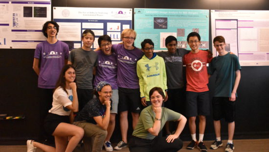 Cohort photo at poster session