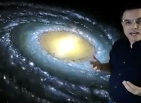 "Shane Larson's Virtual Public Lecture, ""A Storm of Stars: A Living History of the Milky Way"""